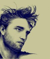 Robert Pattinson by Anna-Mariaa