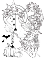 Halloween Love by draconiangem