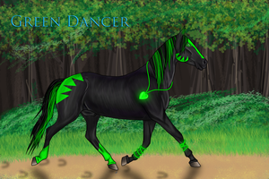 Green Dancer by Babyfishy