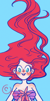 ariel bookmark by mayakern