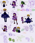 Doodles : BBrae kids by FnFiNdOART