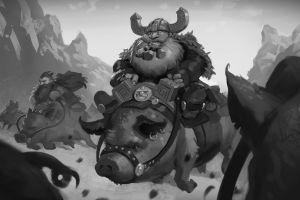 Pig Riders by Prospass