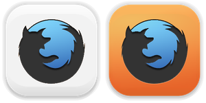 Firefox. Icons style Pacifica by BogdanYaremak