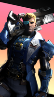 Soldier: 76 Commander Morrison - Overwatch by lemon100