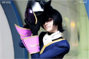 CODE GEASS: Lelouch with mask by KoujiAlone