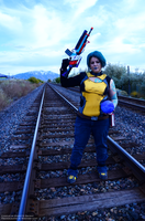 Borderlands 2 Maya Cosplay - Pandorian Legend by sugarpoultry