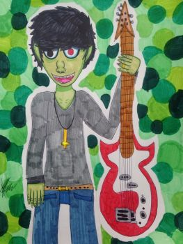 (AT) Murdoc Niccals by FabianArtist