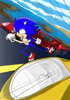 Run Sonic! by DeathChronx