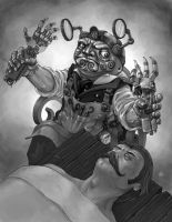Cubicle 7: Doc Naacal by LeeSmith
