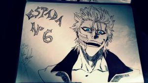 bleach grimmjow by KamiAkuma94