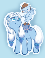 PonyPalace - A family sketch by Damine
