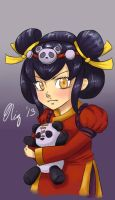 Keychain Design: Panda Annie [League of Legends] by XWorld-DOMInationX