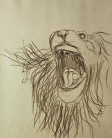 Lion by EisenFeuer