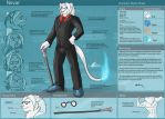 [Commission]  Nevar Character Sheet by Ulario