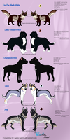 Kennel animals_Simple sheet 6 by Aquene-lupetta