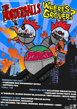 THE BALLISTIC GROVERGEDDON TOUR 2014 by Jc447