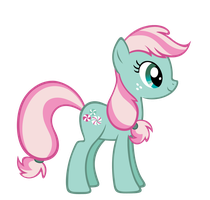 Minty FiM style vector by Durpy
