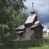 Ancient wooden church by NikolaiMalykh