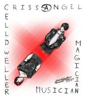 [ Criss Angel and Klayton ] by SketchyRae
