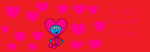 Baby Smurf celebrates Valentine's day. by Smurfette123
