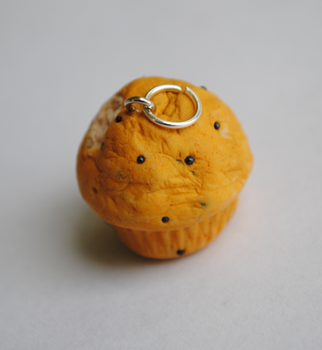 Blueberry Muffin Charm by ClayRunway
