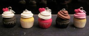 Yummy Cupcake Charms! by Blazesnbreezes