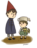 Wirt And Greg by pixeldoodleart