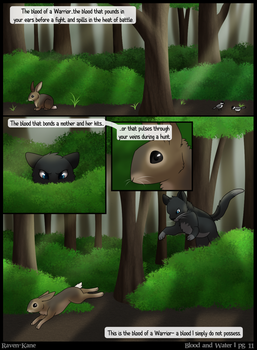 Warriors: Blood and Water - Page 11 by Raven-Kane