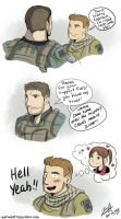 Claire's secret lover by redfield37