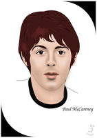 Paul McCartney by FoolEcho