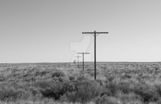 Old Route 66 Light Poles by codemics