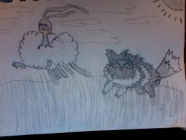 Altaria and Zigzagzoon request by TheCrazyandInsane