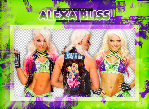 Alexa Bliss - Pack Png #O9 by TheNightingale01