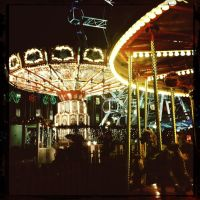 Fair at Night by elizabethunseelie
