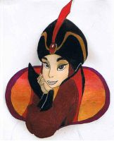 Jasmine as Jafar by Tewateroniakwa