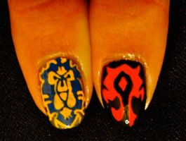 Faction Finger Nails by Sulalu