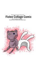 Fiolee Comic Cover Page by Chuppi-tan