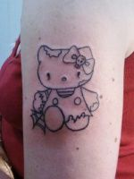 Amanda's zombie hello kitty by artgecko