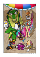 Chaotix Vacation by yuski