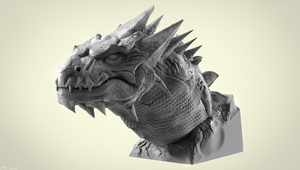 Dragon Sculpt by sergiosoares