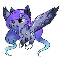 Night Pony auction :CLOSED: by annaza0000
