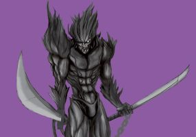 Updated zanpakuto soul by blackfeathers