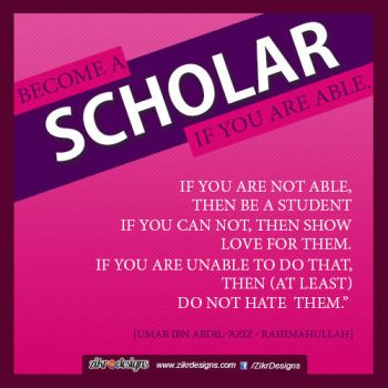 Become a Scholar by abuKhashiyah