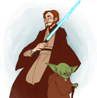 THE FORCE IS STRONG WITH THIS ONE by AgentDax