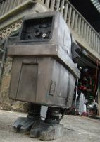 Gonk Droid Costume by hapajedi
