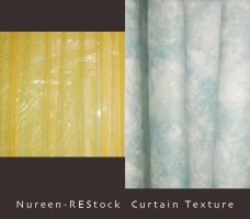 Curtain Textures 1 by nureen-REStock