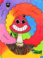 Shroom On Acid by seksignome