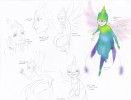 Tooth Fairy Character Design Study by AyumiChizu