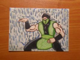 REPTILE sketch card by kylemulsow