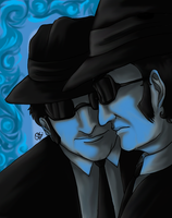 The Blues Brothers by fellow-traveller